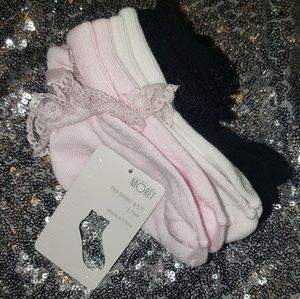 Moret Baby Girl Lace Bobby Socks